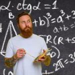 creative people aren't good at maths